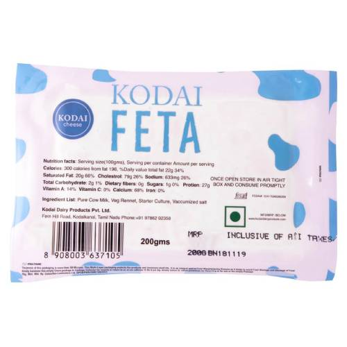 KODAI FETA CHEESE 200GM