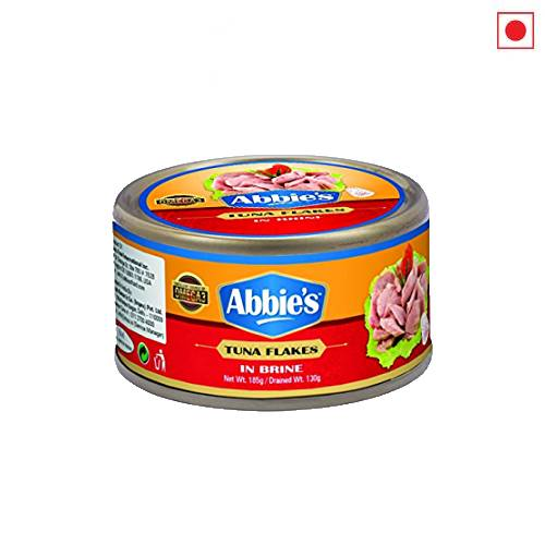 ABBIES TUNA FLAKES IN BRINE 185g