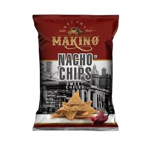 MAKINO NACHO CHIPS SWEET CHILLY 60GM