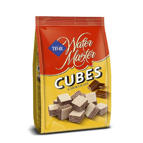 TIME WAFER CHOCOLATE CUBES 250GM