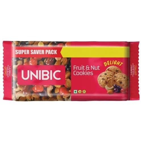 UNIBIC FRUIT & NUT COOKIES / BISCUITS 300g 50% DISCOUNT