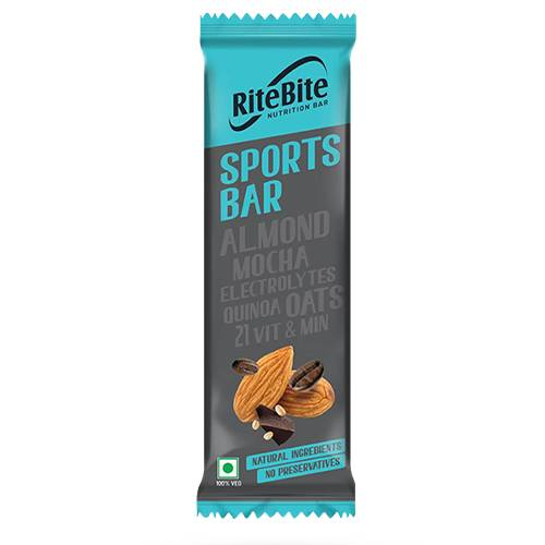 RITEBITE MAX PROTEIN SPORTS PROTEIN SINGLE BAR 40g