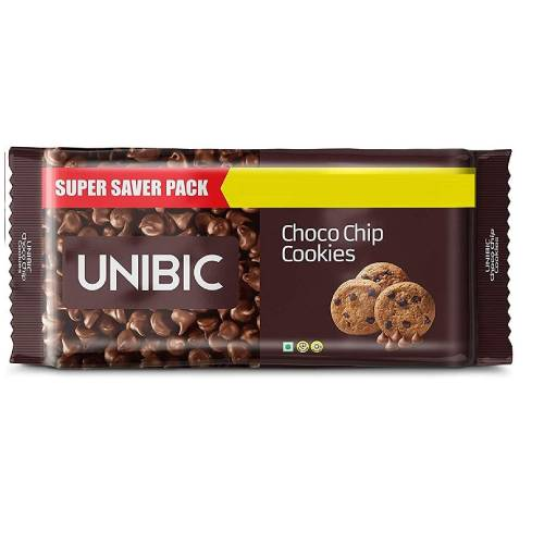UNIBIC CHOCO CHIP COOKIES / BISCUITS 300g 50% DISCOUNT