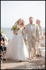 end-of-ceremony-excitement-infinity-yacht-wedding-michigan
