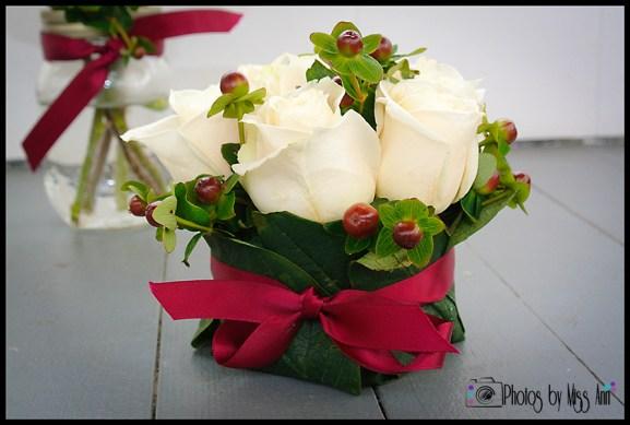 Iceland Wedding Flowers Reception Centerpiece