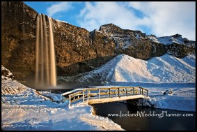 Seljalandsfoss Wedding in Iceland Location by Iceland Wedding Planner Ann Peters