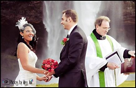 Seljalandsfoss Wedding Ceremony Photos Photos by Miss Ann