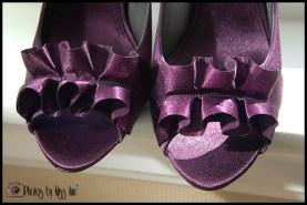 Ruffled Bridal Shoes Iceland Wedding Hotel Budir Photos by Miss Ann