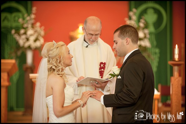 St. Pius X Catholic Church Wedding Southgate Mi Wedding Photographer Photos by Miss Ann-6