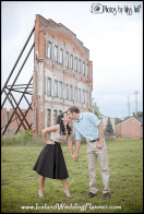 Plymouth Daisy Air Rifle Factory Engagement Session Photos by Miss Ann MI Wedding Photos