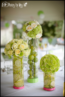 Unique Centerpiece Ideas Lime and Roses Iceland Wedding Planner
