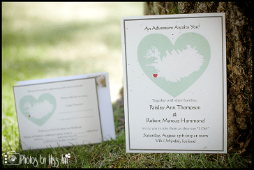 Unique Destination Wedding Invite Ideas Iceland RSVP Mad Lib Reply Card Vik Beach Wedding