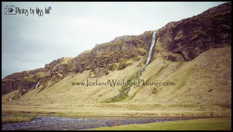 Iceland Wedding Ceremony Location Seljalandsfoss Waterfall Photos by Miss Ann