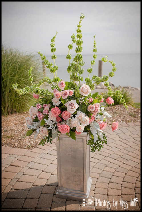 Lakeside Wedding Details Lime Green and Pink Wedding Flowers Iceland Wedding Photographer