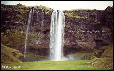 Seljalandsfoss Wedding Photos Iceland Wedding Photographer Photos by Miss Ann
