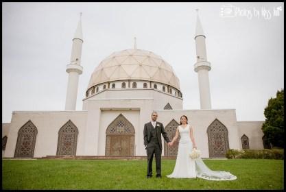 Islamic Center of Greater Toledo Wedding Portraits