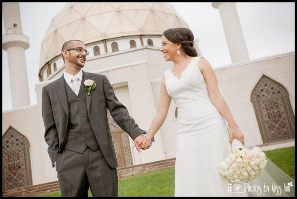 Islamic Mosque Wedding Couples Portraits Photos by Miss Ann