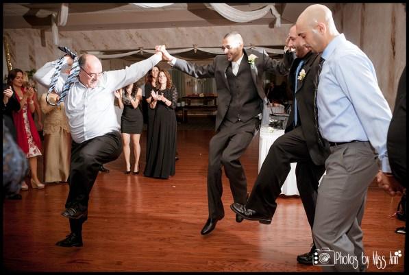 Lebanese Dancing Dabke Wedding Reception Photos Central Park West Wedding