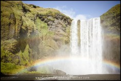 Skogafoss Wedding Photography and Iceland Wedding Planning