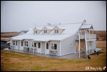 Outside of Hotel Laekur Hotel in Hella Iceland Wedding Planner Review