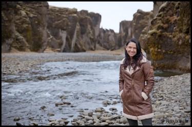 Iceland Wedding Coat Norwear Fjadrargljufur Canyon Wedding Photo