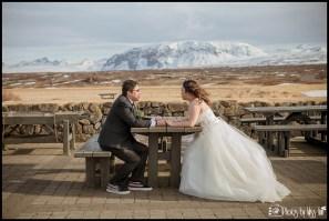 Thingvellir National Park Iceland Wedding Photos by Miss Ann