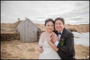 Thingvellir Park Iceland Wedding Photos Grass Covered Houses
