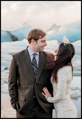 Romantic Iceland Wedding Anniversary Session Jokulsarlon Glacier Lagoon