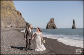 Iceland Beach Wedding Photographer Reynisfjara Beach