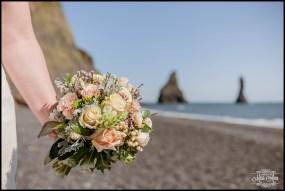 Iceland Wedding Reynisfjara Beach Wedding