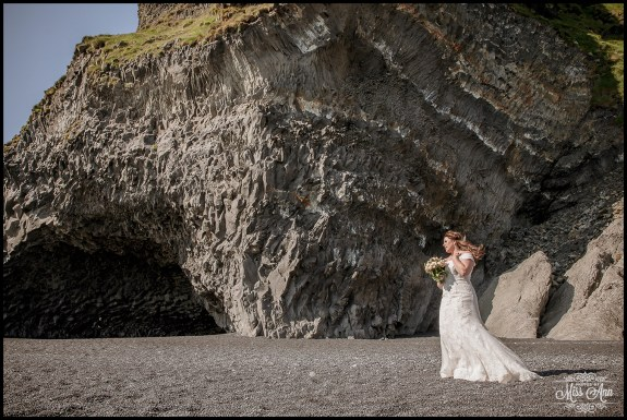 Reynisfjara Beach Wedding Iceland Cave Wedding Location