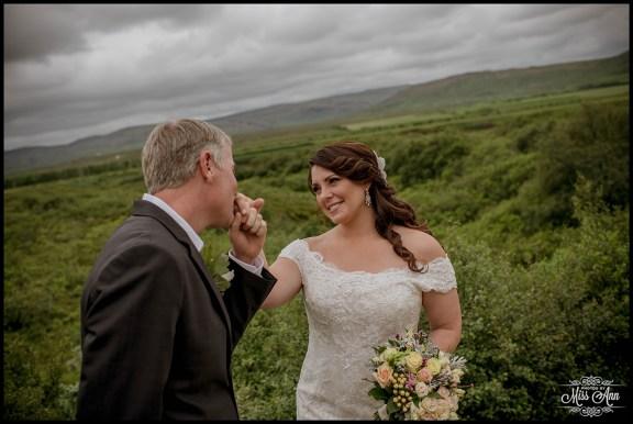 Romantic Iceland Wedding Photos