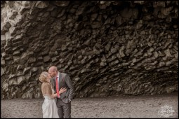 Iceland Wedding Photography in Cave