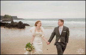 Iceland Wedding Skardsvik Beach 2