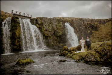 Kirkjufellsfoss Waterfall Wedding