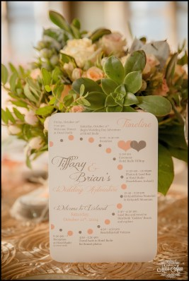 Iceland Wedding Timeline Card Photos by Miss Ann