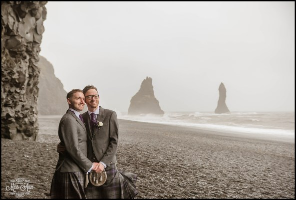 Reynisfjara Iceland Wedding Photographer