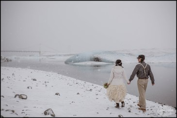 Iceland Wedding Photographer Glacier Lagoon Wedding