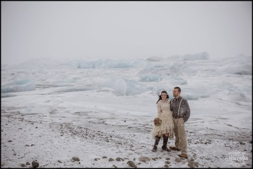 Iceland Winter Wedding Snowy Wedding Photos