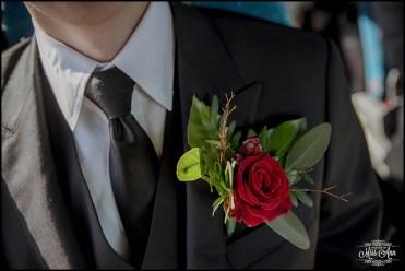 Groom Flower Iceland Wedding