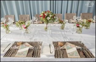 Iceland Wedding Reception Place Setting