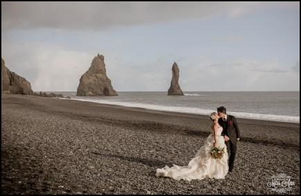 Iceland Wedding Reynisfjara Beach