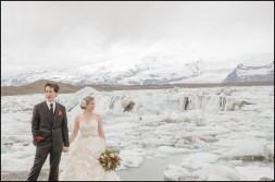 Jokulsarlon Glacier Lagoon Wedding Photographer