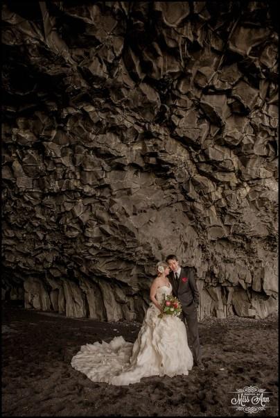 Reynisfjara Iceland Wedding