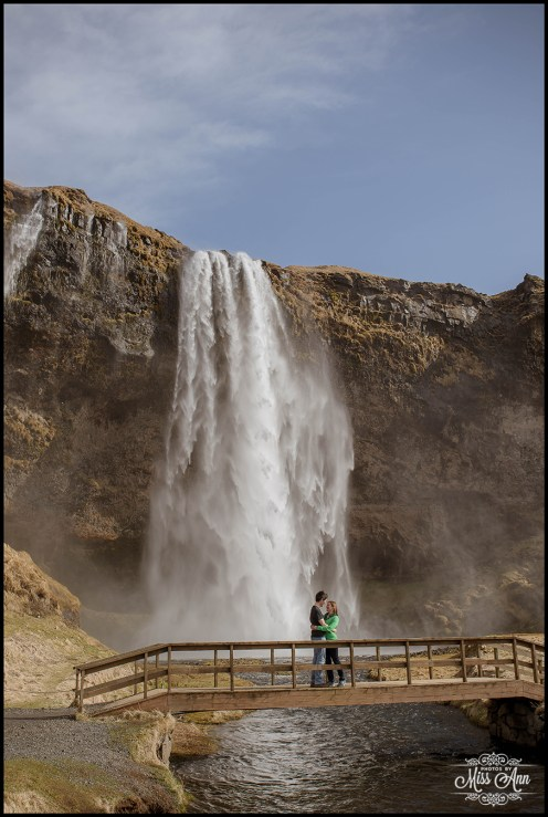 Seljalandsfoss Engagement Session