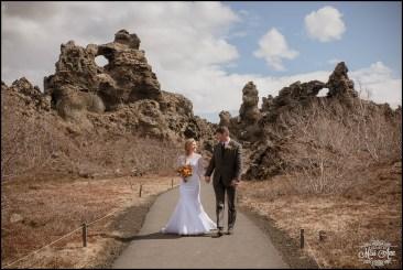 Iceland Wedding Photographer Dimmuborgir Lava Fields-9