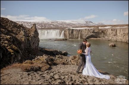 Iceland Wedding Photographer Godafoss Waterfall-12