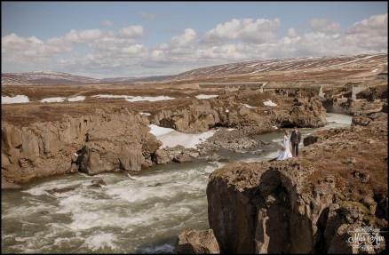 Iceland Wedding Photographer Godafoss Waterfall-15
