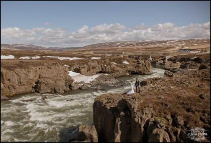 Iceland Wedding Photographer Godafoss Waterfall-16