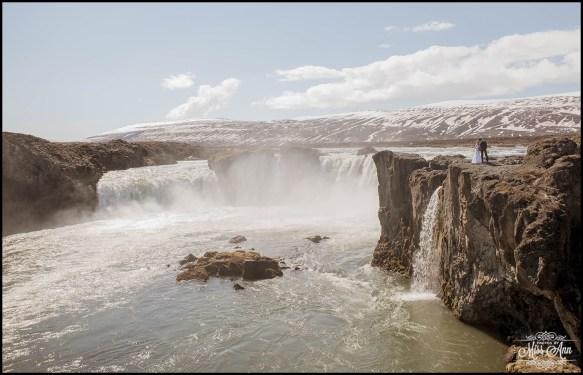 Iceland Wedding Photographer Godafoss Waterfall-21
